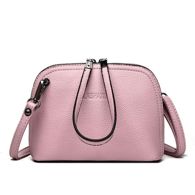 Hot Sale Summer Women's Genuine Leather Handbags Small Shoulder CrossBody Bags Lady Shell Bags Women Messenger Bag Clutches Bag-ivroe