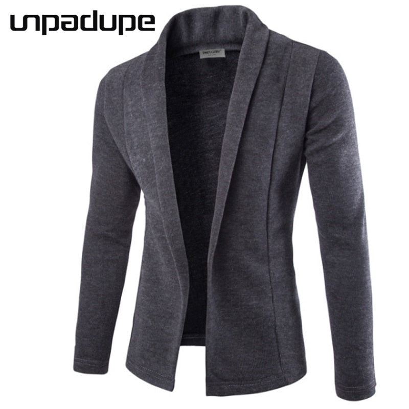 Sweater Men 2018 Brand Concise V-Neck Sweater Coat Cardigan Male Solid Color Slim Mens Cardigan Sweater Coat Man Cardigan Men-ivroe