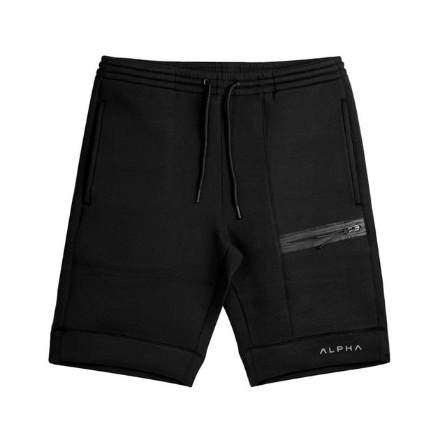 2017 Summer Brand Mens Jogger Sporting Shorts Slimming Men Black Short Pants Male Fitness Gyms Shorts for workout-ivroe