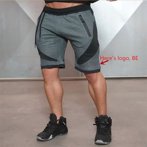 2018 New Summer Brand High Quality Cotton Men shorts Bodybuilding Fitness Gasp short masculino workout jogger shorts golds-ivroe
