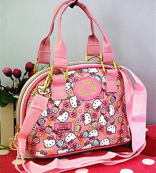 Xingkings Hello kitty Bags Handbag Shoulder Bag Purse Messenger Bag Totes Bag XK-3299P-ivroe