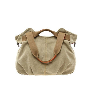 Aelicy Large Capacity Casual Vintage Hobo Canvas Handbags Luxury Handbags Women Bags Designer High Quality 4 Colors 1108-ivroe