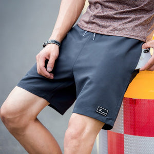 Summer Hot Shorts Men Fashion High Quality Bottom Short Male Breathable Solid Colors Beach Shorts Men's Short Male-ivroe
