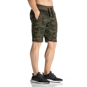 2016 New Fashion Camouflage Men's Shorts Casual Summer Shorts Bodybuilding Short Pants-ivroe