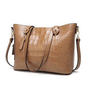 MAGICYZ Women Famous brand designer Luxury leather handbags women messenger bag Ladies Shoulder bags Crossbody crocodile bag-ivroe