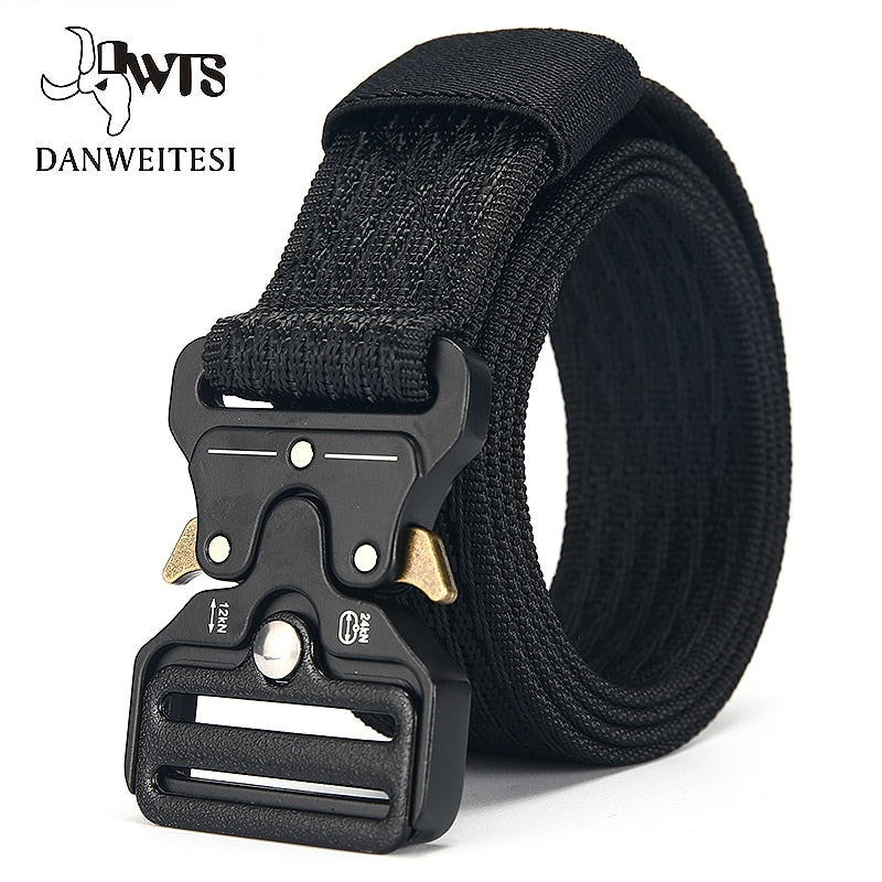 [DWTS]Belt Male Tactical military Canvas Belt Outdoor Tactical Belt men's Military Nylon Belts Army ceinture homme-ivroe