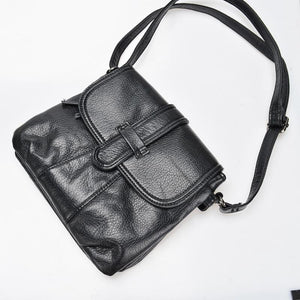 Beaocly Women Shoulder Bags High Quality Pu Leather Women Small Messenger Bag Solid Vintage Crossbody Bag For Women Handbag-ivroe
