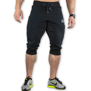 2018 NEW Summer Brand Mens Jogger Sporting Shorts Men Black Bodybuilding Short Pants Male Fitness Gyms Shorts for workout-ivroe
