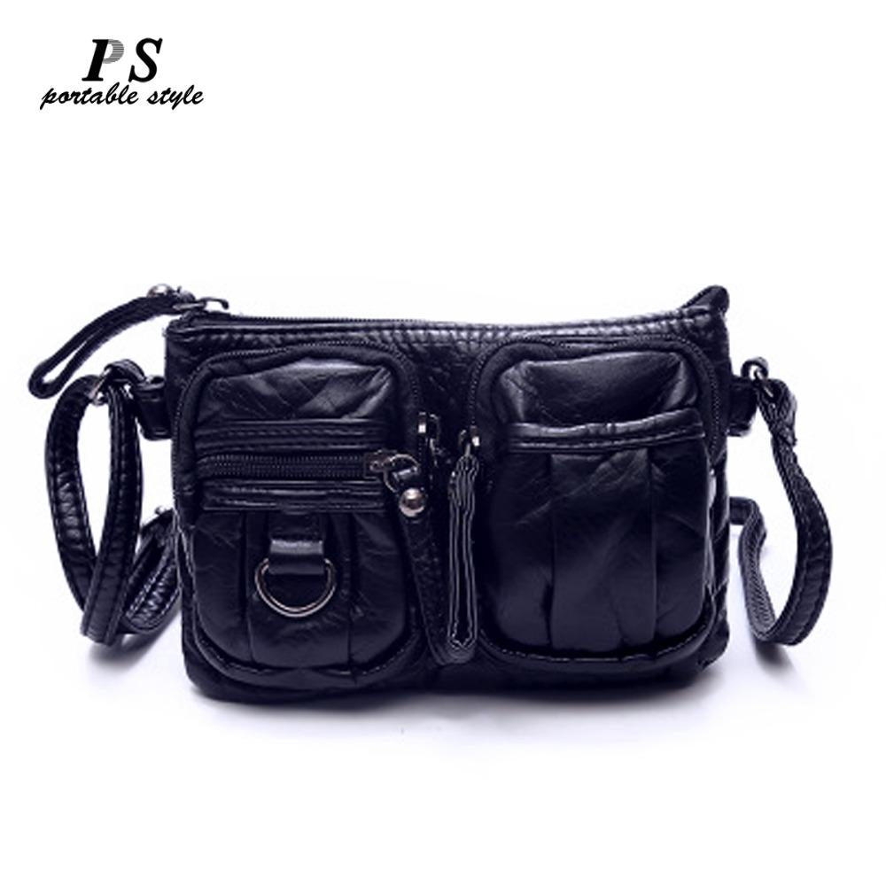 New Hot Famous Brands Women's Genuine Leather Bag Female Casual Shopping Travel Messenger Bag For Women Woman Shoulder Bag-ivroe