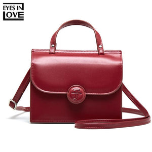 EYES IN LOVE Brand Designer Shoulder Bag For Women Handbag Ladies Mini Purse Female Small Crossbody Bag Women Messenger Bags Red-ivroe