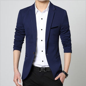 2018 fashion new men leisure business suit / Men's suit jacket blazers coat-ivroe
