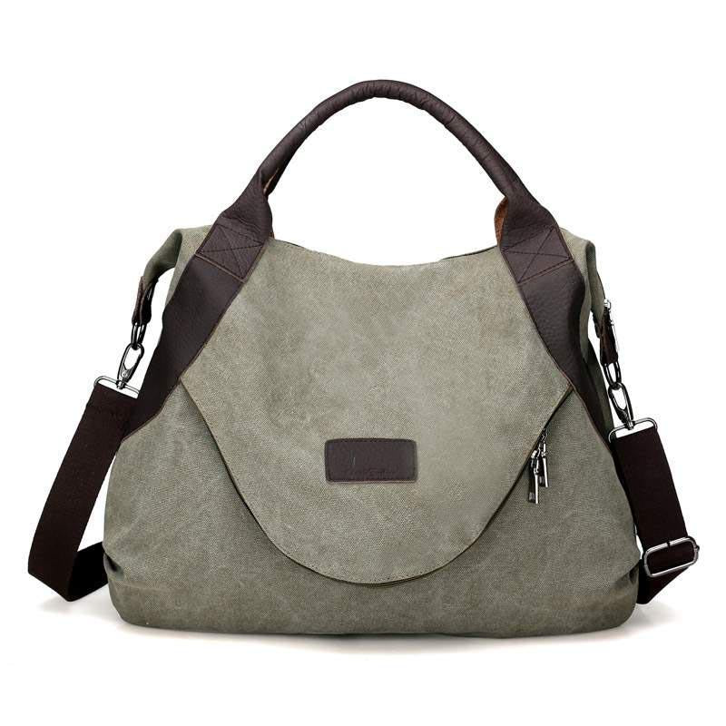 Laamei Original Fashion Woman Canvas Bags Large Capacity Casual Female Messenger Bag bolsos mujer Vintage Ladies Crossbody Bag-ivroe