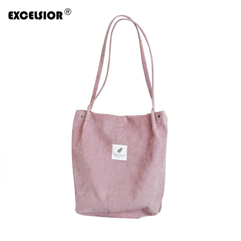 EXCELSIOR 2018 Casual Women's Bags Floral Large Capacity Tote Canvas Handbag Shopping Bag Beach Bags Casual Tote Feminina G1658-ivroe