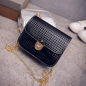 2018 Luxury Leather Designer Women Bags Chain Crossbody Bags Handbag Purse Sling Shoulder Bag Messenger Bolsa Feminina Clutch-ivroe