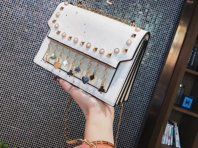 Women Shoulder Bags Bolsas Feminina Crossbody Bags For Women Messenger Vintage Bag Rivet Small Handbags Famous Brand-ivroe