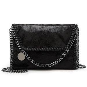 2018 New Fashion Womens Handbag Design Chain Casual Bag Women Shoulder Bags Clutch Bolsa Feminina Messenger Bags-ivroe