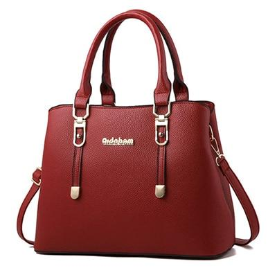 Women Leather Handbags Shoulder Bag For Women 2018 Tote Bag Female Leather Ladies Handbag Sac a Main-ivroe