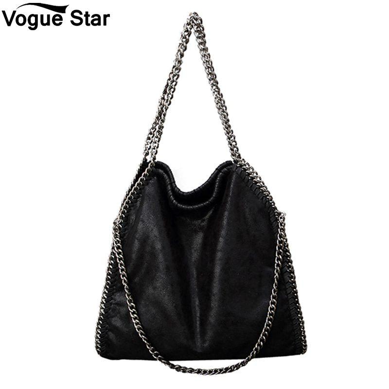 Lady Women handbags Crossbody Bags PU leather Shoulder Bag stella 3 silver chains Bolso Tote Fashion Sac A Main M42-ivroe