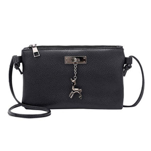 sling bags for women shopper bag ladies designer Leather Crossbody Small Deer Shoulder Messenger Coin bag schoudertas dames-ivroe