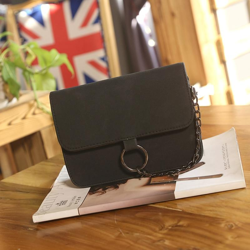 Women Crossbody Bag Scrub Small Square Bag Messenger Pack Lady Women Handbags Female Shoulder Bag-ivroe