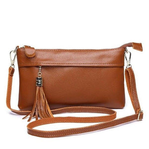 Soft Genuine Leather Female Crossbody Bag Fashion Spring and Summer Women Shoulder Bags small Clutch Flap Women Messenger Bags-ivroe