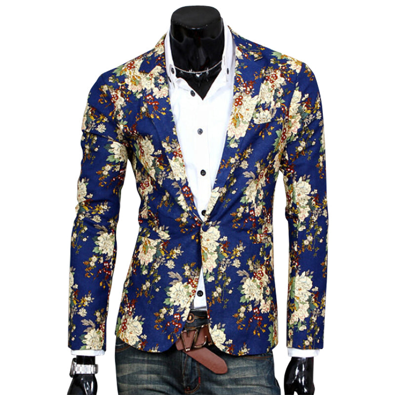 2017 Top Suit Jacket For Men Terno Masculino Suit Blazers Jackets Traje Hombre Men's Casual BlazerSize S-XXL-ivroe