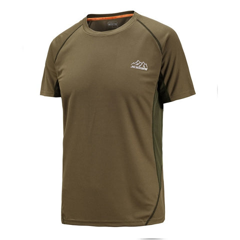 fd34e4059d4 ... Short Sleeve Quick Dry Men T Shirt o-neck printing brand sporting  clothing.  99.98  39.95
