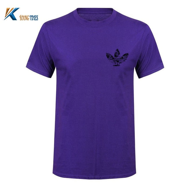 2018 new Clothing 10 colors O neck Short sleeve Men's T Shirt Men Fashion European size Tshirts Casual For Male T-shirt tops-ivroe