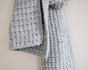 T&C Scarf N°1 / Light Grey