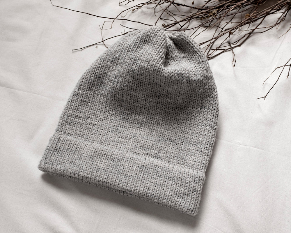 T&C Wool Hat / Light Grey
