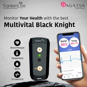 SanketLife Multi Vital - Heart , Blood Pressure, Lungs, Temperature  - All in One !