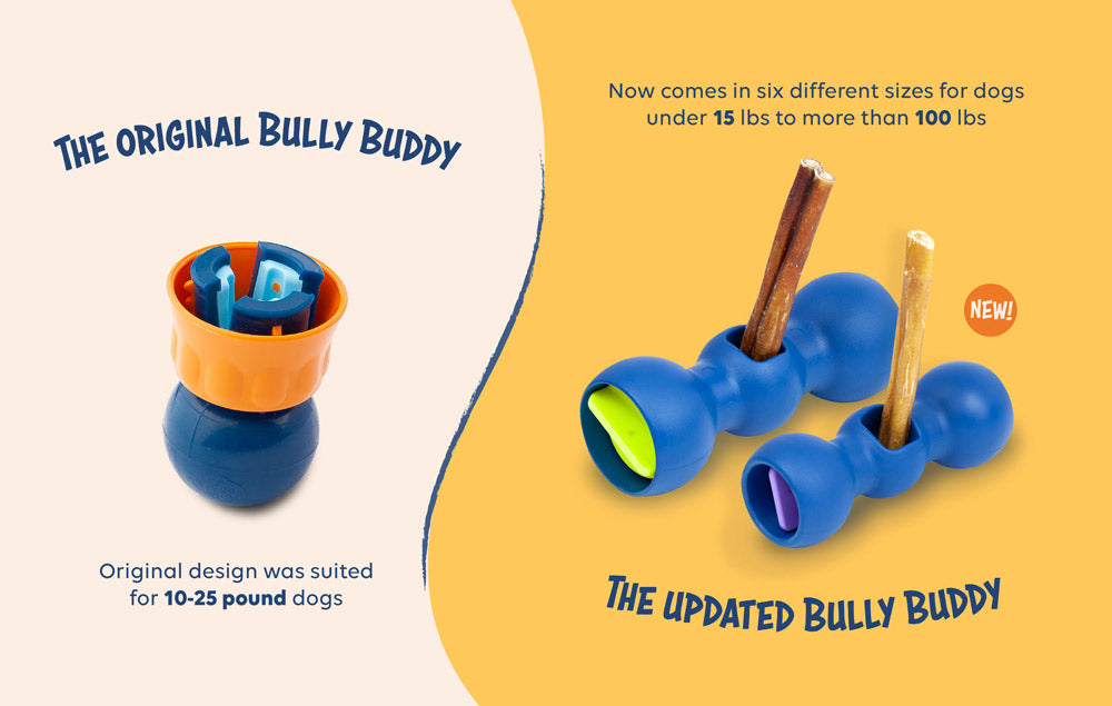 The Bully Buddy Redesign: 4 Important Reasons Why We Made a Few Changes