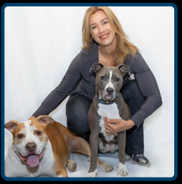 Johnna Devereaux, CPN with her dogs Diego and Lola
