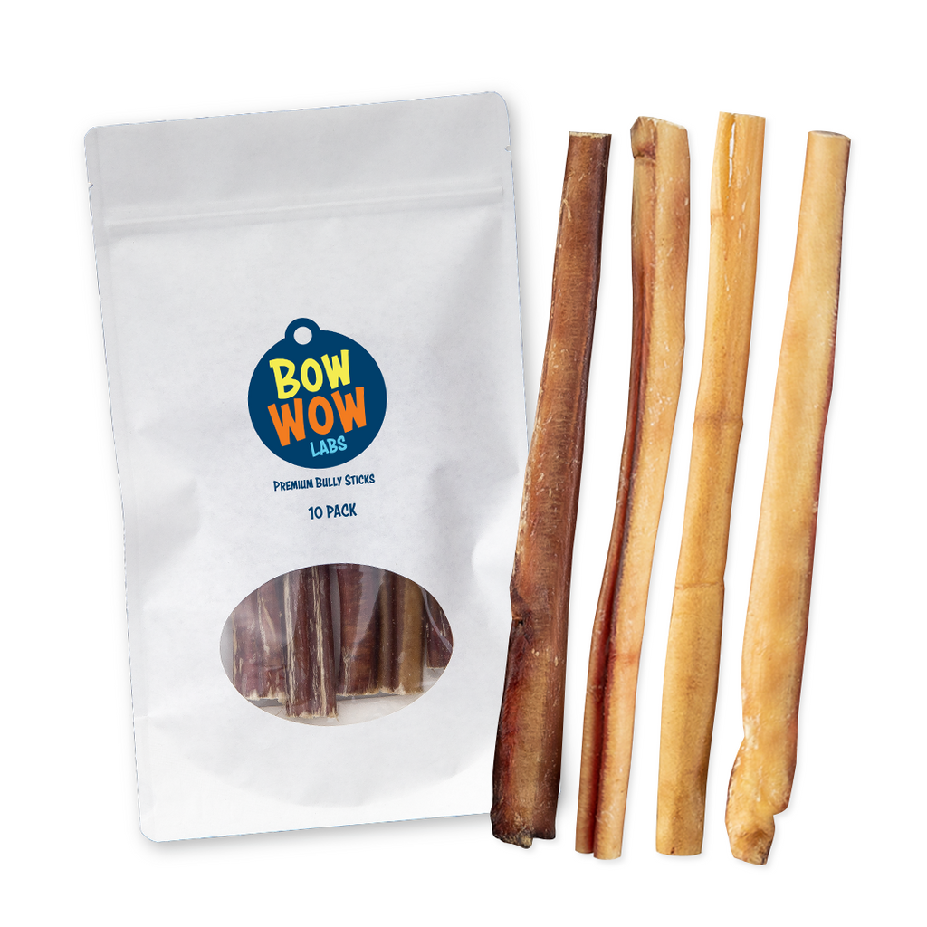 "Hand-Selected 10"" - 12"" Bully Sticks"