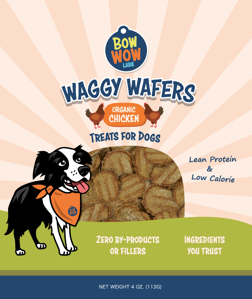 Waggy Wafers - Organic Chicken All Natural Dog Treats