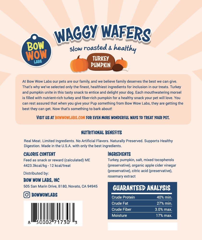Waggy Wafers - All Natural Dog Treats - Wholesale