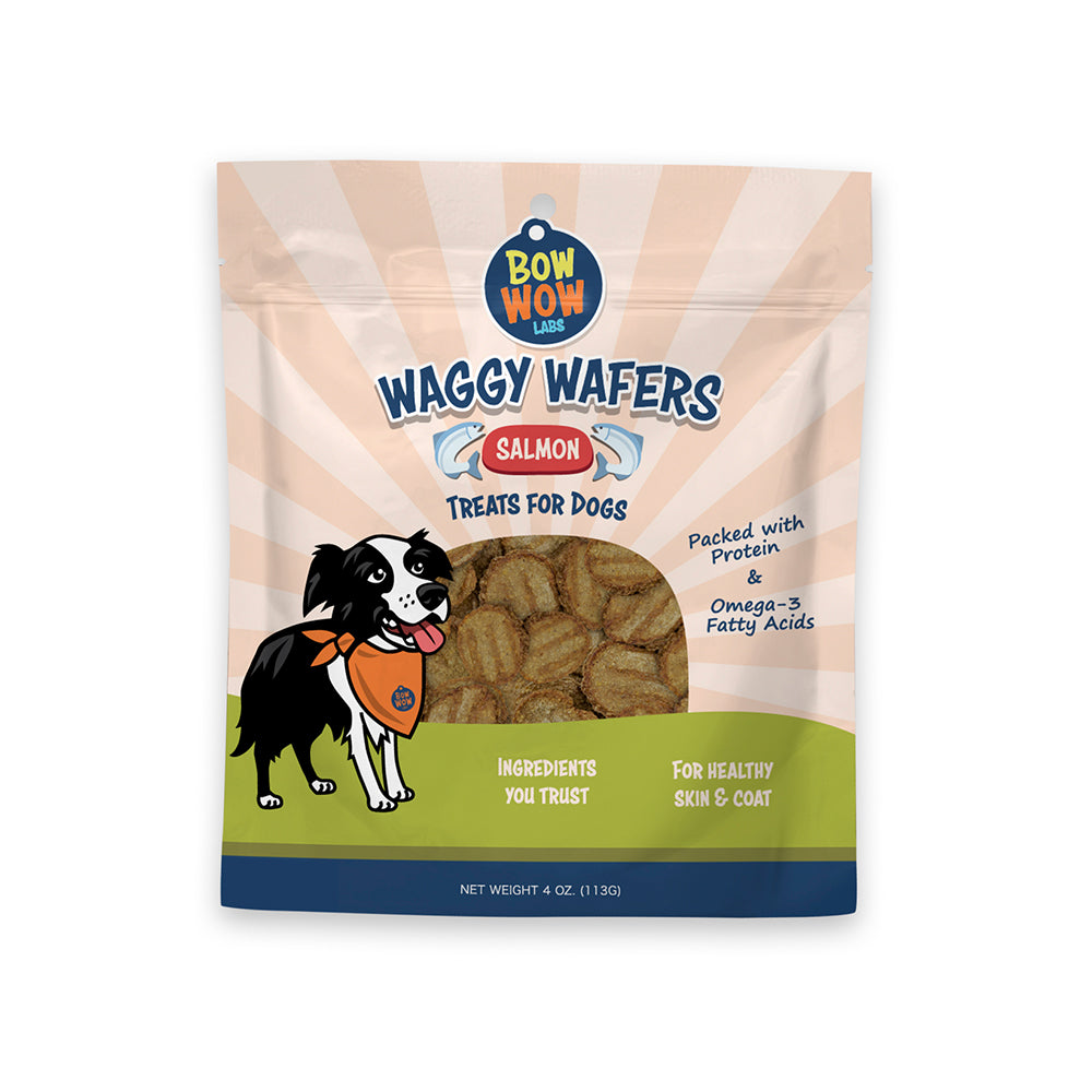 Waggy Wafers - Salmon All Natural Dog Treats