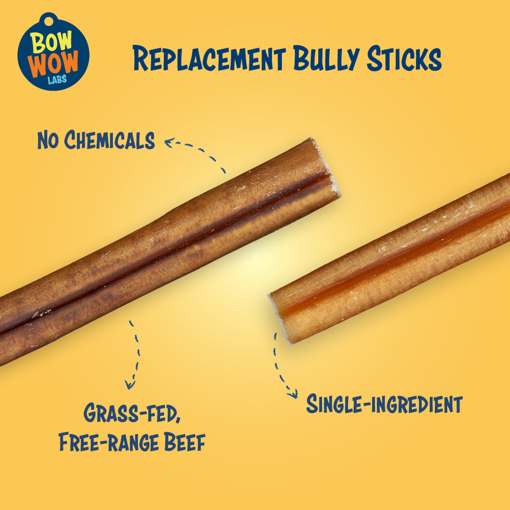 "Hand-Selected 6"" Bully Sticks"