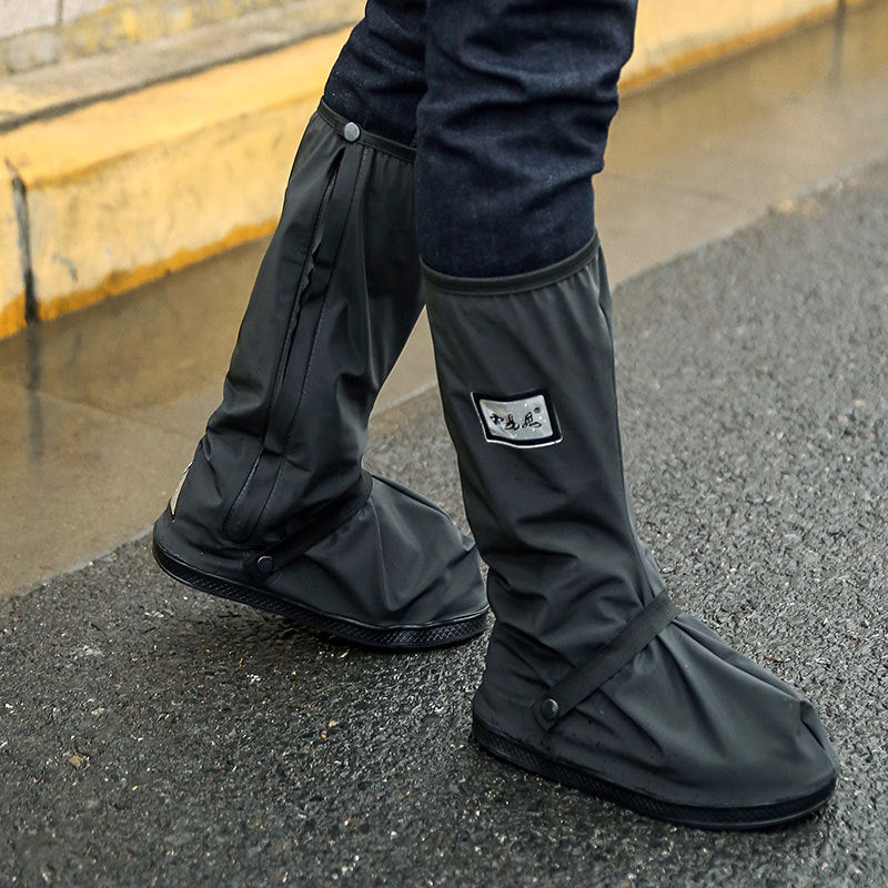 39fd10fc90 Retail and wholesale With Relectors Waterproof reusable Motorcycle Cycling  Bike Rain Boot Shoes Covers