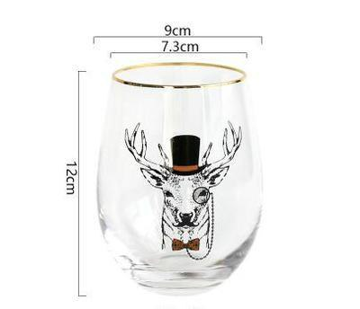 d463bf113ab 6 x520ml Round Fat Roly-poly Design Cafe Tumbler Beer Tea Coffee Mug  Cocktail Wine