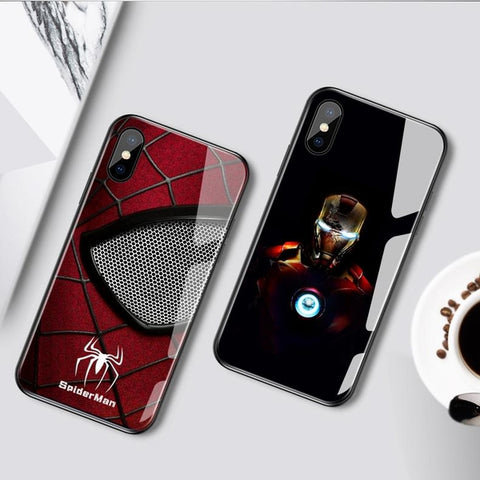 Superhero Induction Light Phone Cases