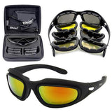 Polarized 4 Lens Kit Army Sunglasses