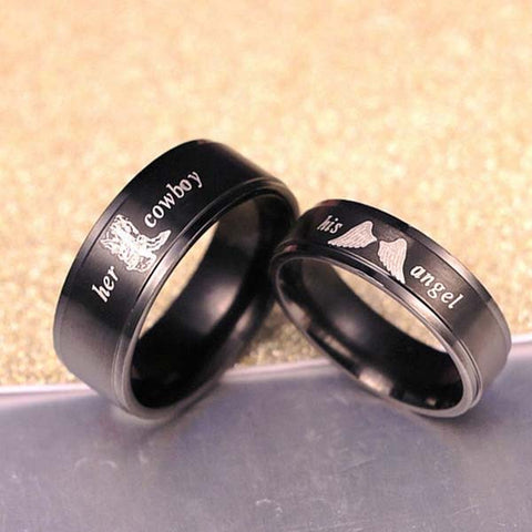 Punk Rock Couple Ring