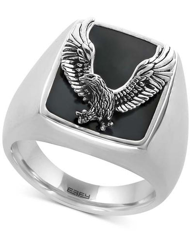 Silver Eagle Ring