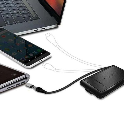 Mobile wireless charging tool card
