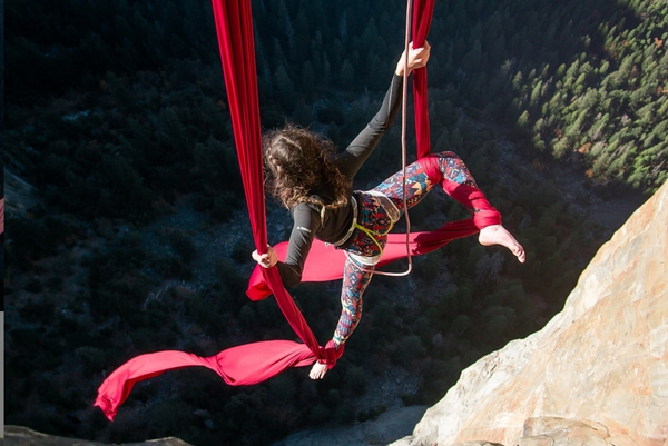 Dancing from Peak to Peak: Priscilla Mewborne the Mountain-Climbing Aerialist
