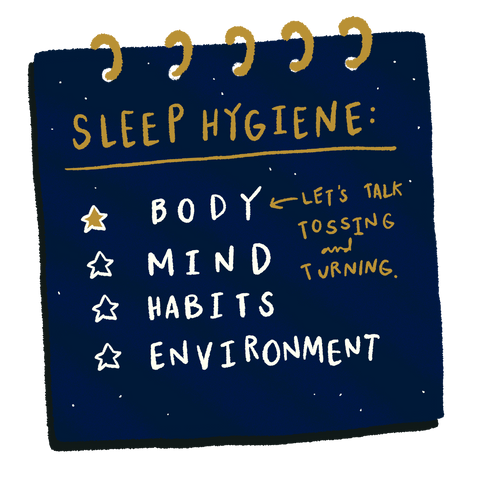 Sleep Hygiene Checklist: Body