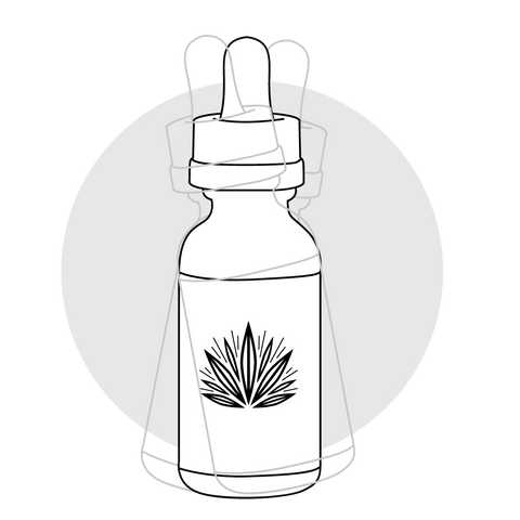 Shake your CBD tincture