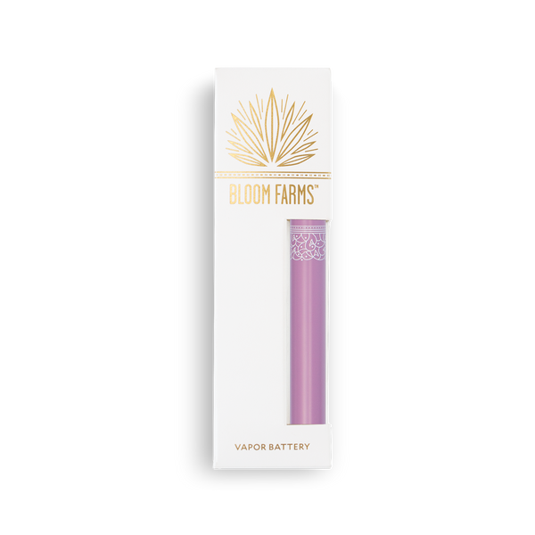 Matte Purple CBD Vapor Battery