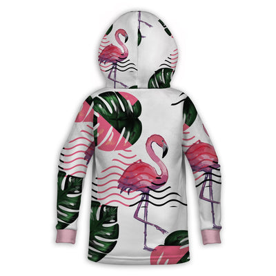 Cute Flamingos Childrens Hoodie | TinyHumanClothing.com